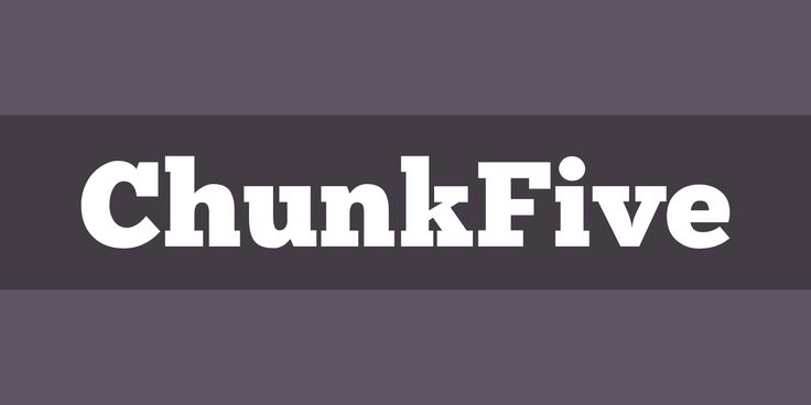 ChunkFive Font Free by The League of Moveable Type » Font Squirrel