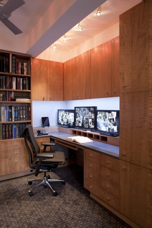 home office narrow long home office design pictures remodel decor and ideas page 9