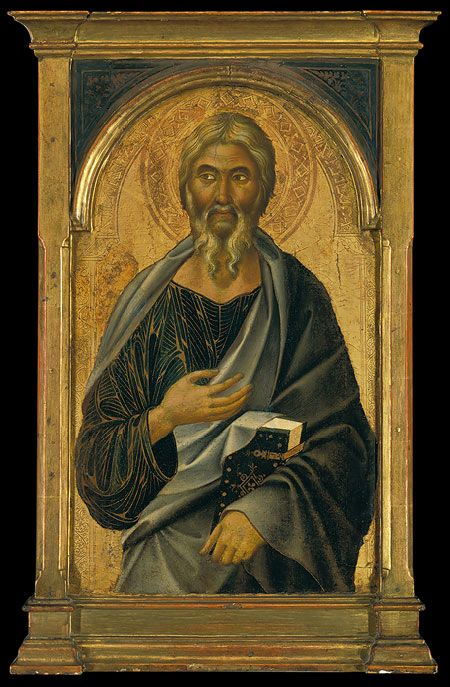 Saint John the Evangelist, part of a polyptych, 1320s  Segna di Buonaventura (Italian, Sienese, active by 1298, died 1326/31)