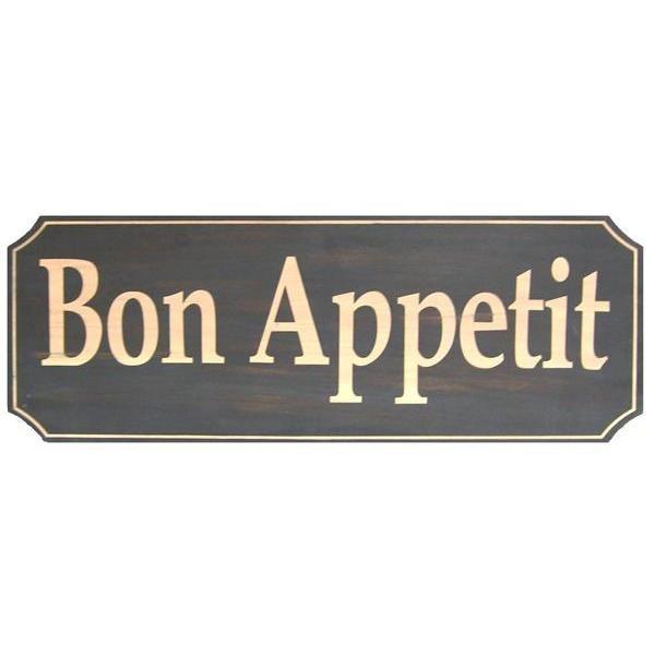 Wood Sign - Bon Appetit
