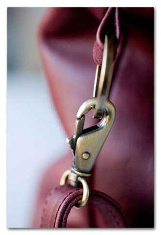 Beautiful leather weekender & baby bags