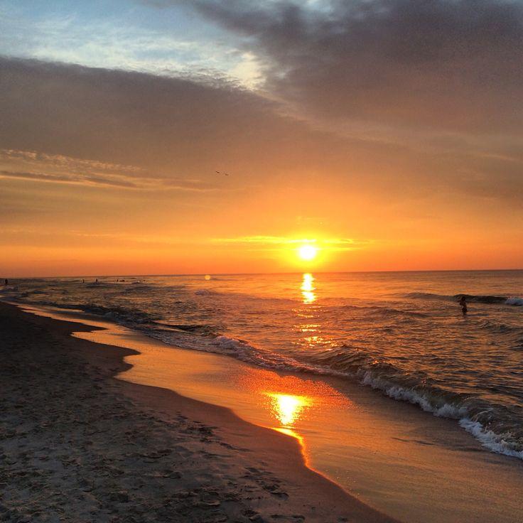 Dębki beach, Baltic sea, Poland, July 2015