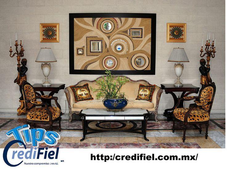 TIPS CREDIFIEL te comenta. Sobre algunas estrategias para decorar tu hogar y ahorrar. Decora con una mezcla de objetos caros y baratos con antiguos y nuevos, tales como antigüedades de segunda mano y objetos de antaño que conseguiste en el mercado de las pulgas junto a algo nuevo y económico. Los objetos antiguos le dan vida a la habitación, así que los puedes mezclar con muebles de Target o Ikea, creando un estilo eclectico y con tu propio toque. http://www.credifiel.com.mx/