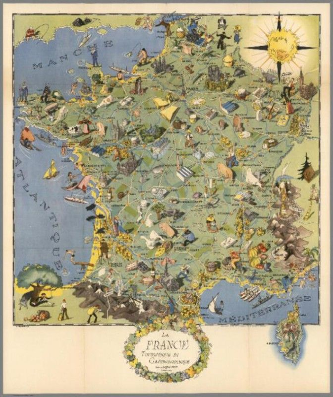 22 best antique world map art poster print images on pinterest vintage map of france la france gastronomiquez buy any canvas art printframed artposter and photo print at great prices retail and wholesale gumiabroncs Gallery