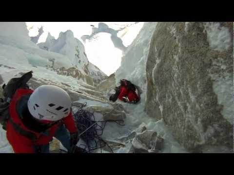 Un video interesante sobre dos personas suben la montana en Patagonia/Tierra del Fuego, Chile. -Joe Cardone