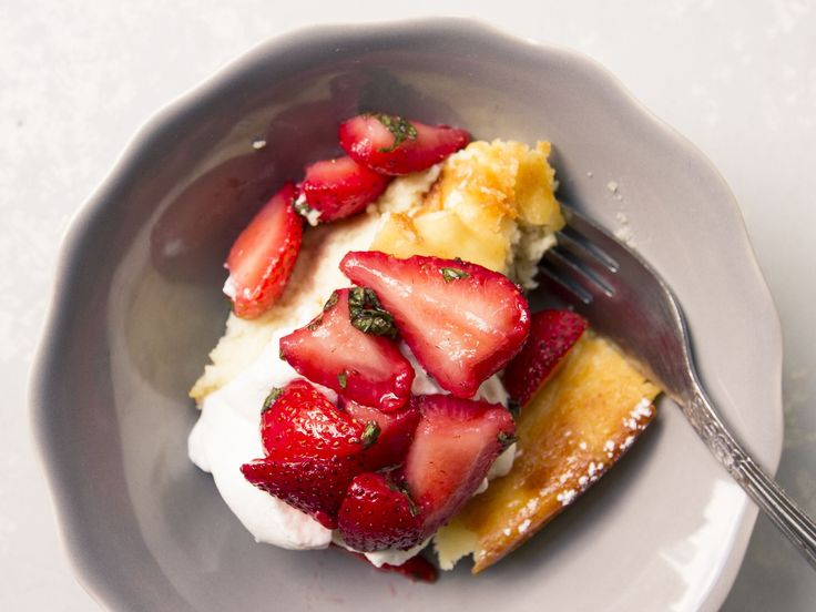... macerated strawberries and mint mint recipes almond recipes macerated
