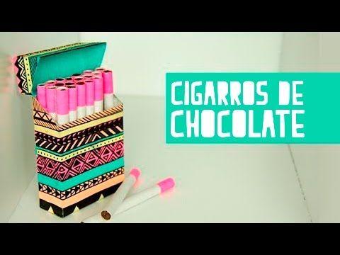 Cigarros chocolate