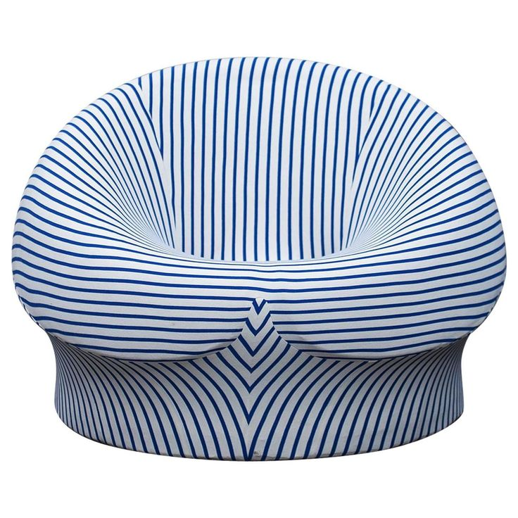 UP3 Chair By Gaetano Pesce In Jean Paul Gaultier Fabric