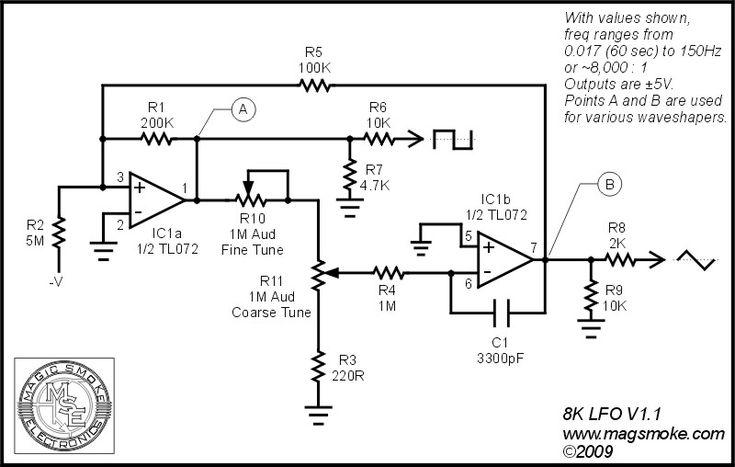 diy operational amplifier schematic