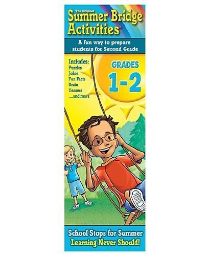 Summer Bridge ActivitiesTM Activity Cards Gr. 1-2 by RB-934103. $13.95. Delight your kids with mind-bending, rib-tickling, brain-boosting fun! These Summer Bridge ActivitiesTM Fact Cards are a great companion to the award-winning workbook series, providing hours of fun for everyone. This boxed set includes two decks of 79 full-color cards, which are held together with a corner grommet to keep the cards from getting lost and to make it easy for children of all ages to hold...