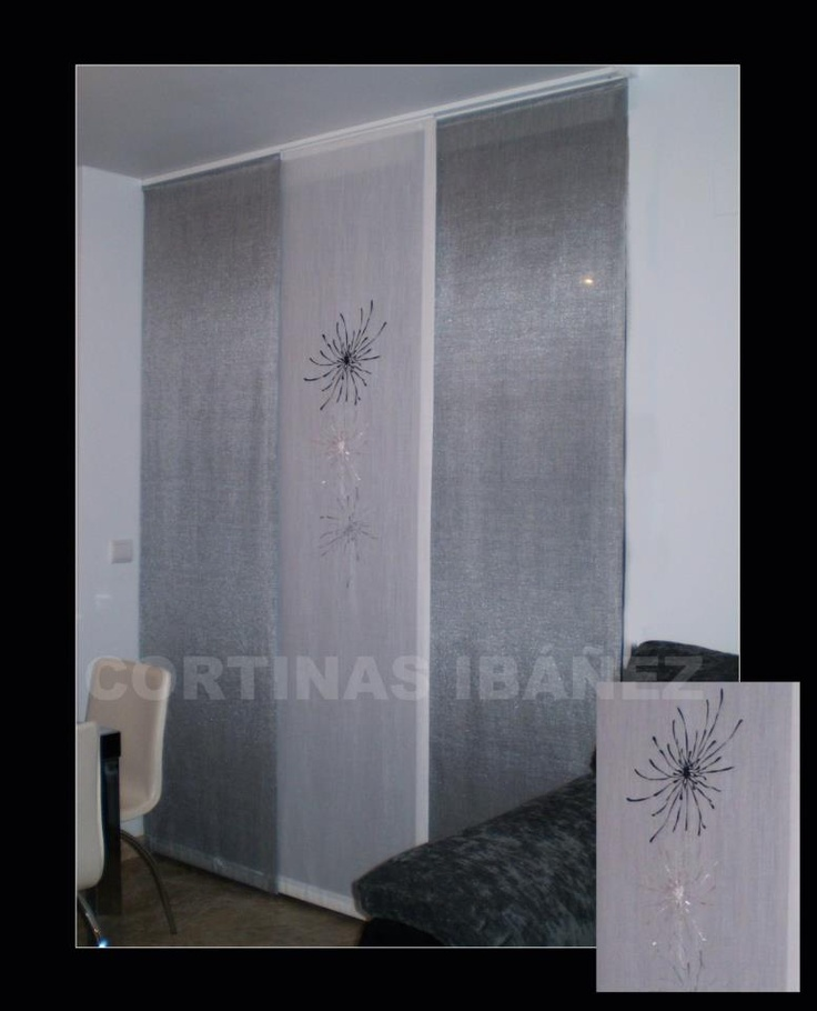 12 best creaciones en tela cortinas images on pinterest - Cortinas para comedor ...