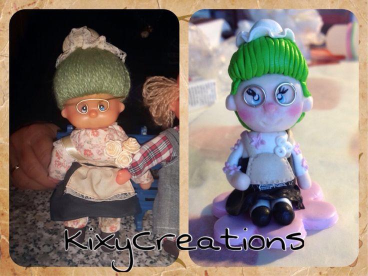 Riproduzione bambolina