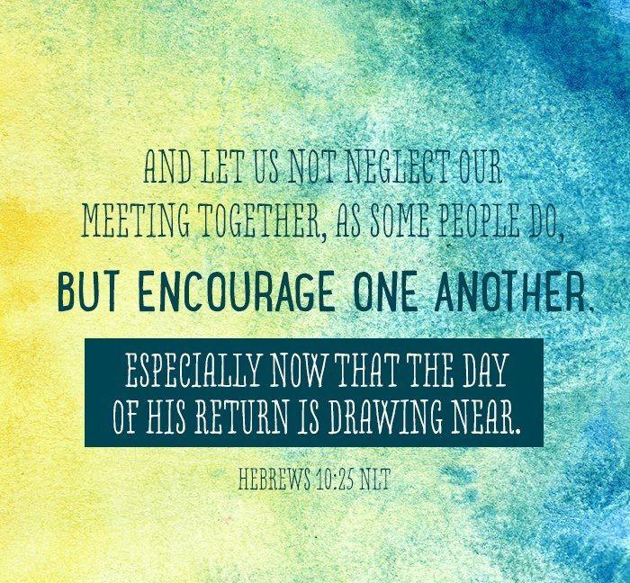 Hebrew 10:25 Kjv