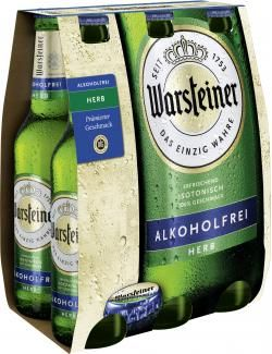 myTime Angebote Warsteiner Herb alkoholfrei: Category: Getränke > Bier > Pils Item number: 4504011776 Price: 3,79 EUR…%#lebensmittel%