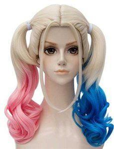 Tsnomore ET P Film Suicide Squad Harley Quinn Femmes longue perruque Grappes Anime cosplay perruque