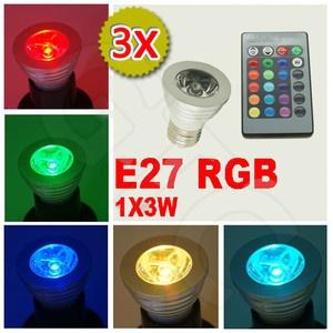 Good Auf Ebay gibt es momentan ein g nstiges X W E RGB LED Lampen Set mit X