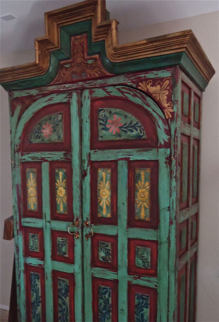 My huge antique mexican armoire <3