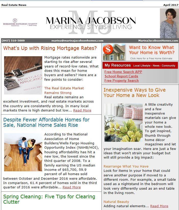 April 2017 Real Estate News - http://www.marinajacobsonhomes.com/april-2017-real-estate-news/