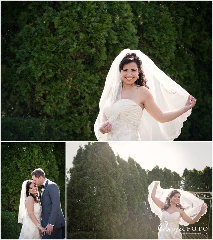 AnyaFoto   NJ Wedding Photographer   Bridal veil
