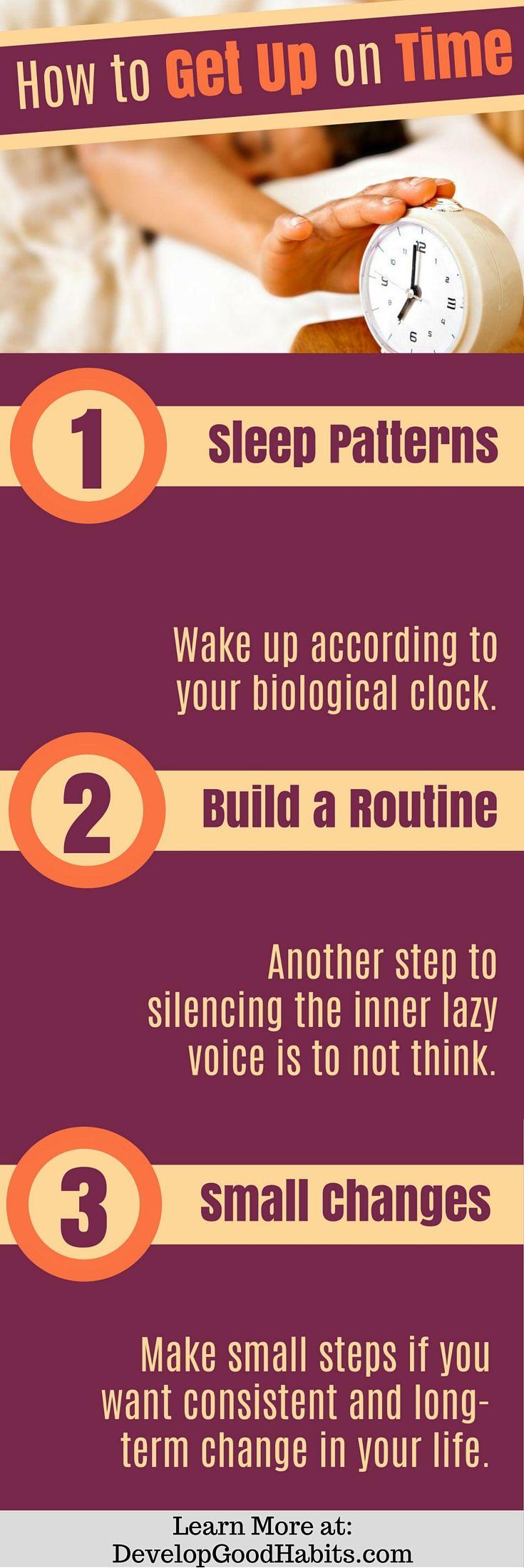 How to get up on time. Tips on getting a good nights sleep. Sleep | Good Nights…
