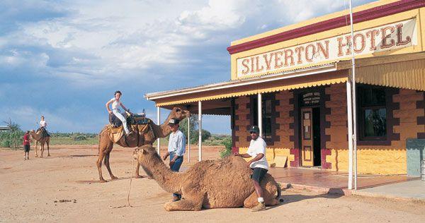 Silverton, where the horses come into the bar, Broken Hill, Australia