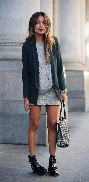 20 façons de porter le blazer – #SpringBreak – Eignung