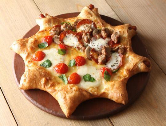 ピザーラ初の星型ピザを期間限定で発売
