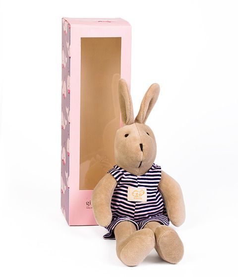 BUNNY PINK WITH WHALE PRINT