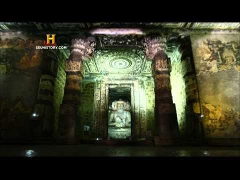 As Cavernas de Ajanta - Full HD - Grutas de Ajanta - Índia - Mistério