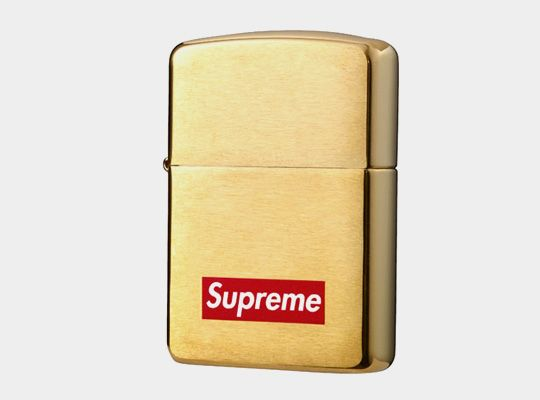Supreme x Zippo Gold Lighter