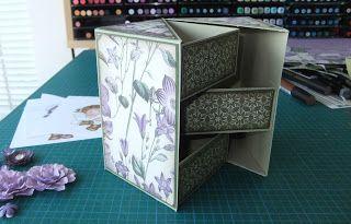Secret box tutorial by Norma #scrapbook #papercrafts