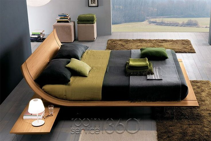 Aqua 2 Platform Bed by Presotto #18446