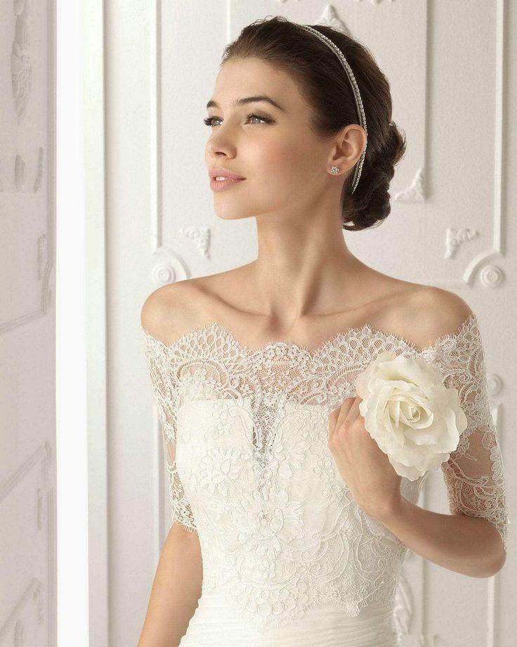 Wholesale Bridal Jackets - Buy Aire Barcelona Off Shoulder Wedding Jacket Wraps Lace Half Long Sleeve Handmade Bridal Jacket Bolera Bridal Accessories Capelet REGENT, $33.51 | DHgate