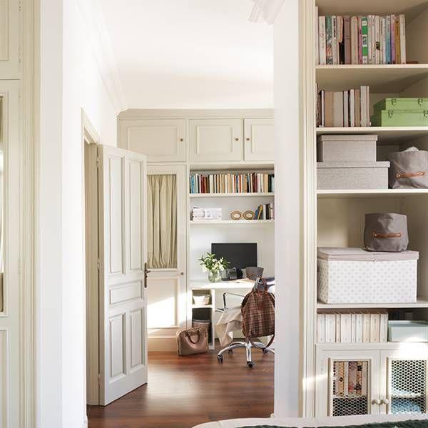 Método japonés de las 5S para ordenar mejor Bookcase, Shelves, House, Home Decor, New Houses, Usa, Cozy Bedroom, Master Bedroom, Study Corner