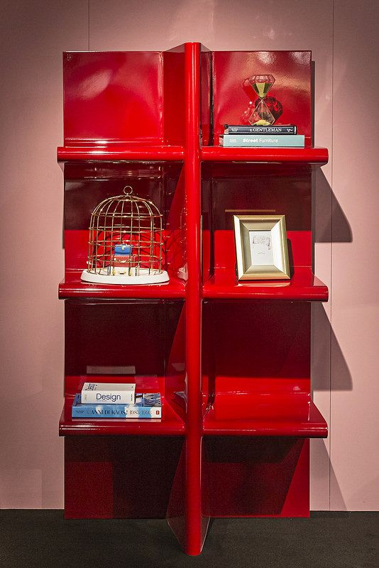 #cioccolata bookshelf, #design Aziz Sariyer for #altreforme grand altreforme hotel #stand @iSaloni 2015  #grandaltreformehotel #altreformegoesfashion #myminisalvador #designweek#interior #home #decor #homedecor #furniture with #woweffect #aluminium