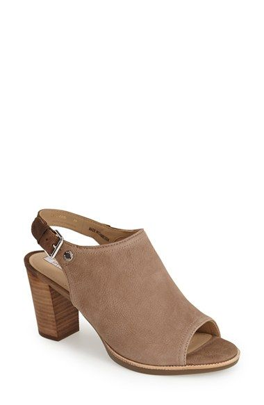 Geox 'Callie 2' Slingback Leather Sandal (Women) available at #Nordstrom