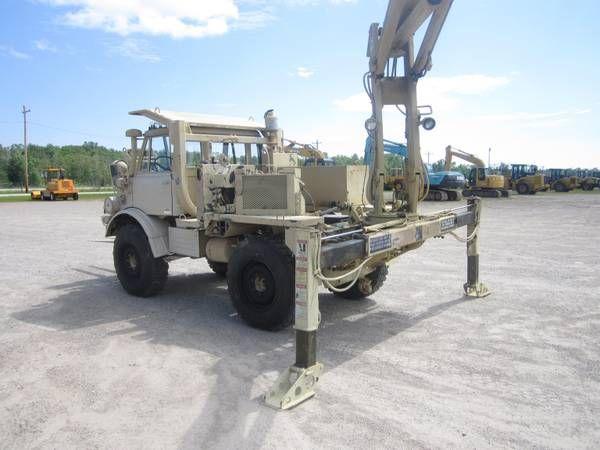 Freightliner Unimog 419 Hmmh Kran