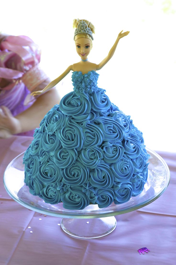 Cake Design Cinderella : Cinderella doll cake - Made it! Cinderella party ...