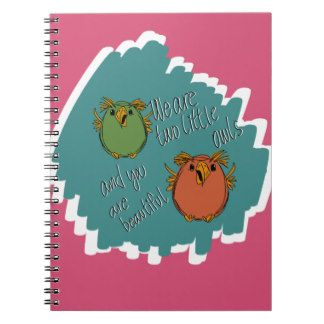 owl sisters note books