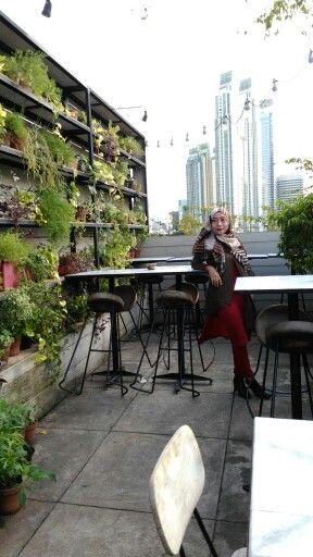 Homey rooftop feel like mine  #hause