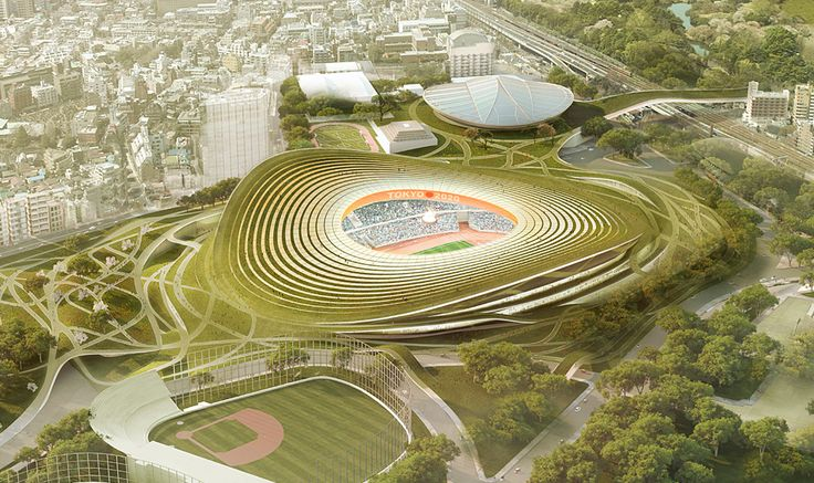 Finalists announced for Japan's New National Stadium: gmp.International GmbH Entry No.35