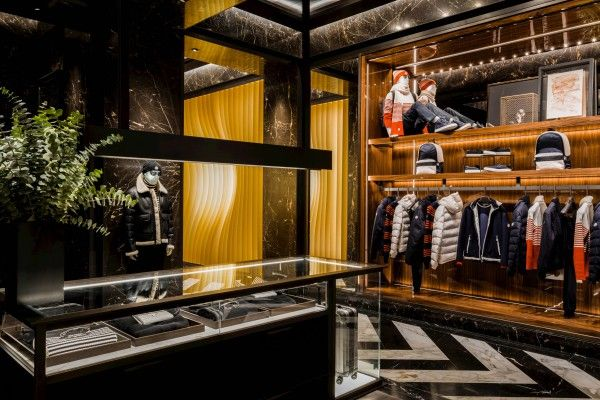 Moncler Opens New York Flagship Celebrates City with Art #thatdope #sneakers #luxury #dope #fashion #trending