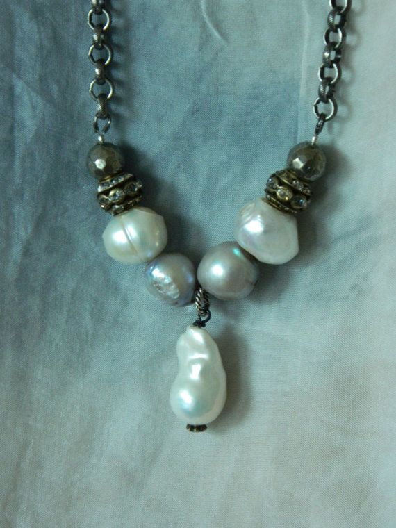 SALE 10% OFF with coupon code Spring10 Baroque Pearl by 58Diamond