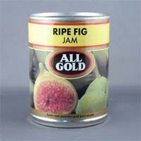 All Gold Ripe Fig Jam is made from ripe white Genoa figs. We suggest serving with blue cheese on crackers. From South Africa.