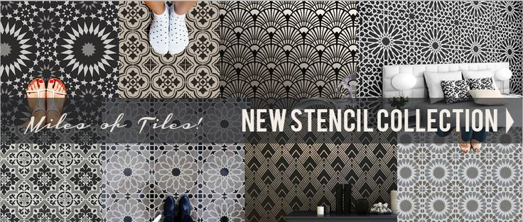 Wall Painting Stencils: Wall Stencils, Furniture Stencil Designs, Stencils for Walls. Cutting Edge Stencils