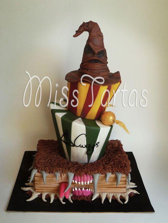 Harry Potter wedding cake