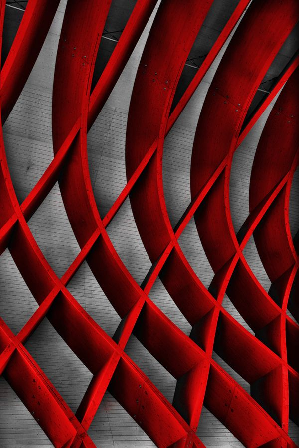 abstract red..Hamad Al Naemi