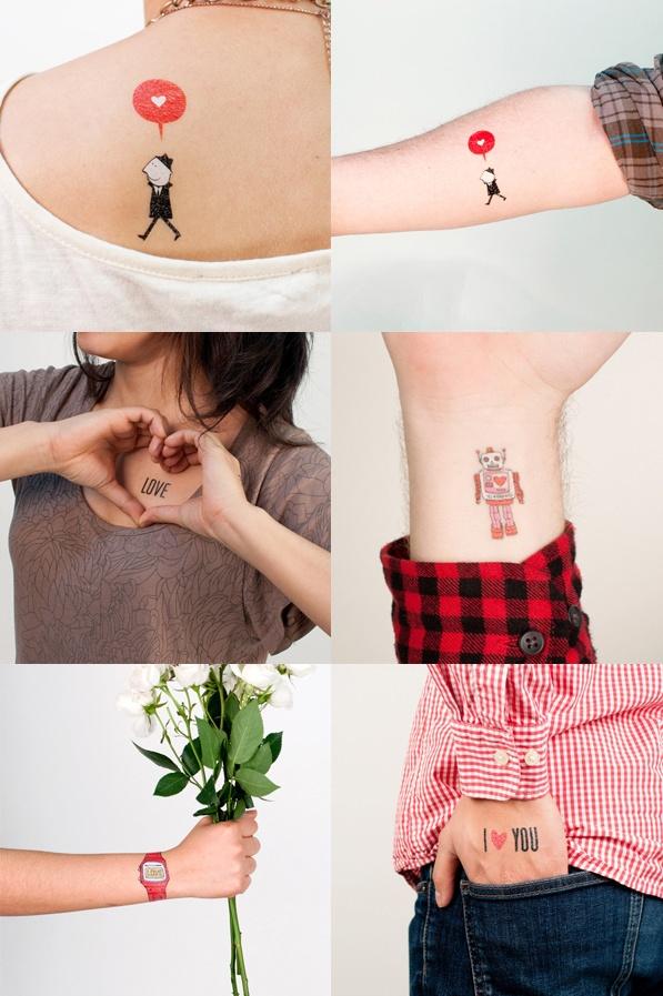 Des tattoos éphémères pas moches:  si, si ça existe !
