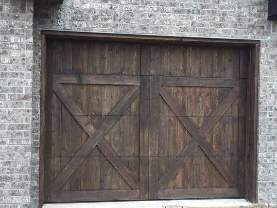 Customizable Wooden Garage Door Wooden Garage Doors Garage Doors Garage Door Design