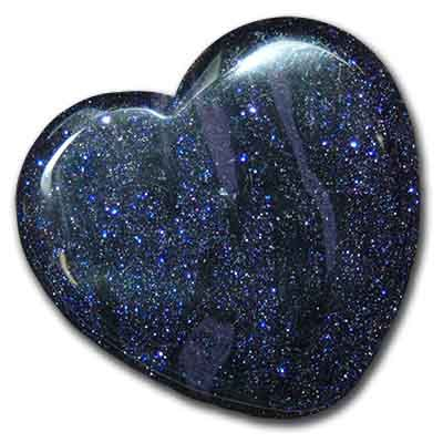 Blue Goldstone - Metaphysical Directory: Detailed - Information About Crystals As A Healing Tool